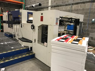 Yawa MW 1050A Automatic Die Cutter  Die Cutters - Automatic and Handfed