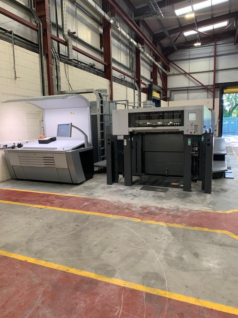 Heidelberg CX 102 5 + LX Five Colour Offset Press