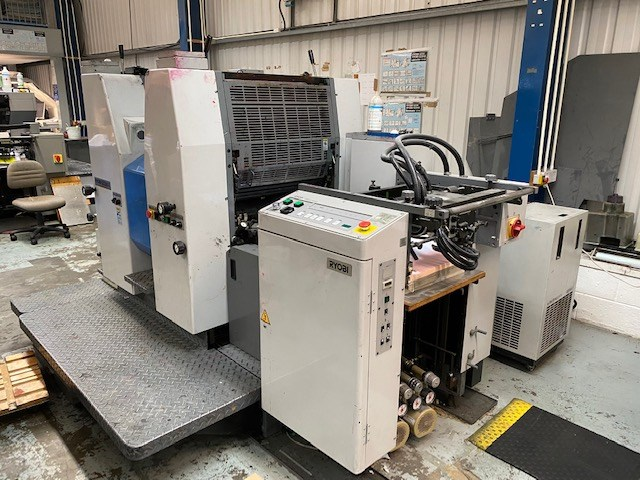 Ryobi 522 HXX Two Colour Offset Press