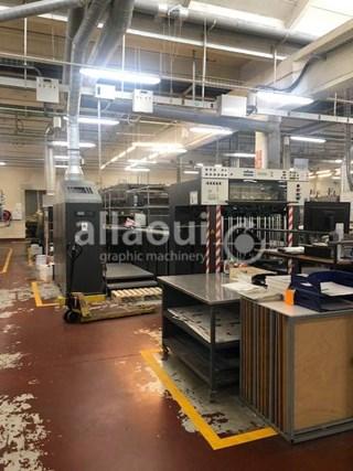 Heidelberg CD 102-5+L Gebrauchte Bogenoffsetmaschinen