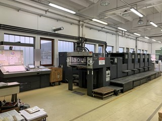 Heidelberg SM 74-5 P2+L Sheet Fed
