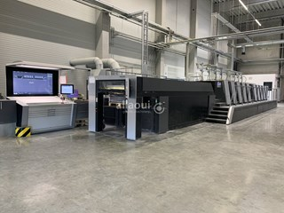 Heidelberg XL 106-9-P+L 18k Sheet Fed