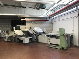 Heidelberg Stahlfolder TH 82 4-4-4 Folding machines