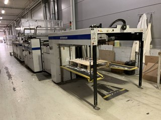 Steinemann Colibri 108 Laminating and coating