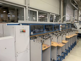 Theisen & Bonitz TB Flex B 310 HP + tb flex S 204 QSM Zusammentragmaschine - Sammel hefter