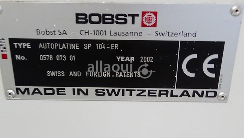 Bobst SP 104 ER