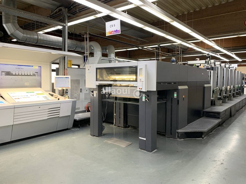 Show details for Heidelberg CX 102-6+LX