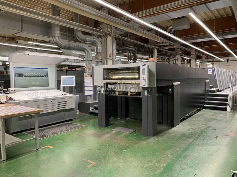 Show details for Heidelberg Speedmaster XL 106-8-P+L 18k