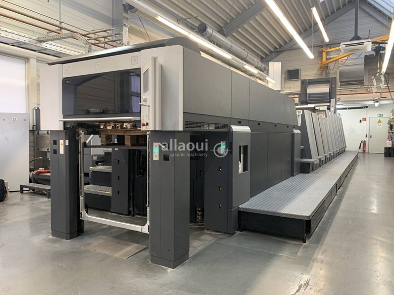 Show details for Heidelberg XL 75-6+LYYL (F) UV
