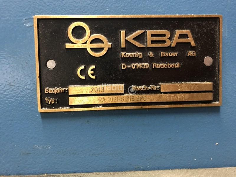 KBA RA 106-10 SW5 HS SIS SPC FAPC