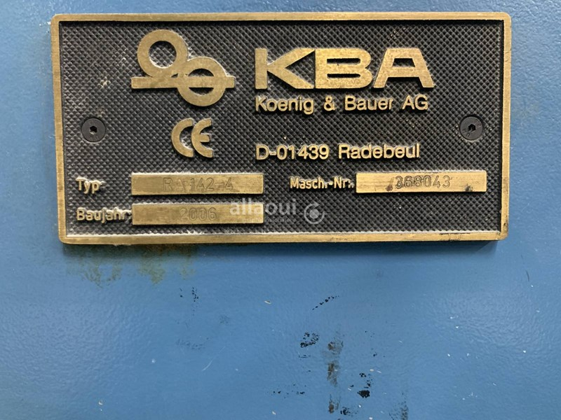 KBA RA 142-4 FAPC