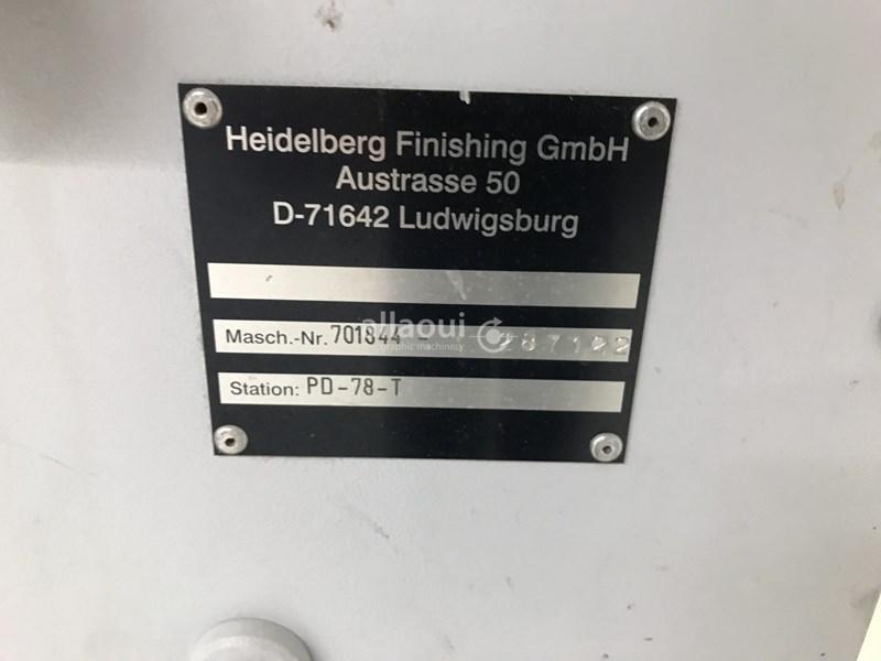 Heidelberg Stahlfolder TD 78 4-4-2 + SB-46/MP