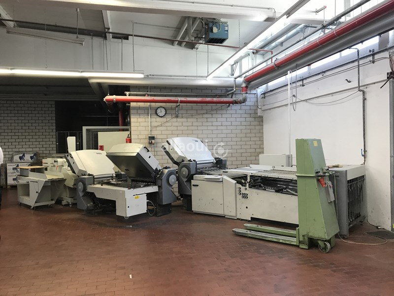 Show details for Heidelberg Stahlfolder TH 82 4-4-4