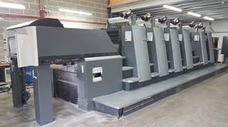Heidelberg CD 74-6P3 Sheet Fed
