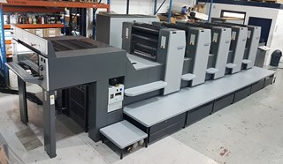 Heidelberg SM 74-5  Sheet Fed
