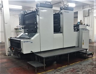 Komori Spri S-228 Sheet Fed