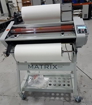 Matrix Duo md-650 Laminating and Coating