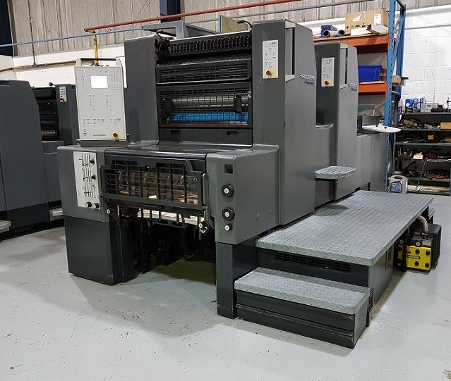 Show details for Heidelberg Printmaster PM 74 2