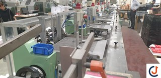 AIME AV 25 Automatic Wrapper Mail Room Equipment