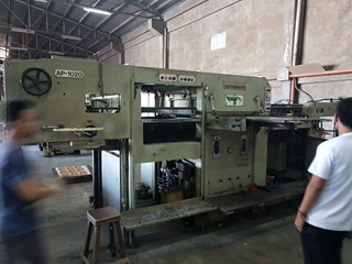 Asahi Carton Master AP-1020  Die Cutting