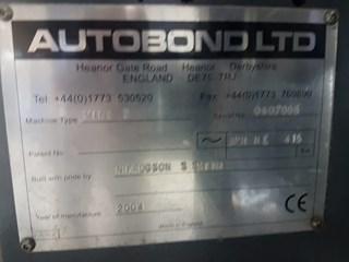 Autobond Mini 52T Finishing