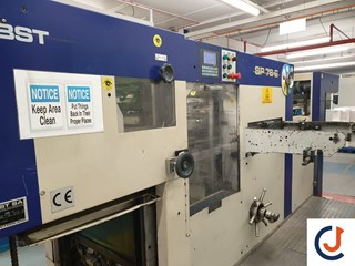 Bobst SP 76 E Autoplaten Die Cutters - Automatic and Handfed