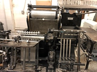 Heidelberg GT Platen  Die Cutters - Automatic and Handfed