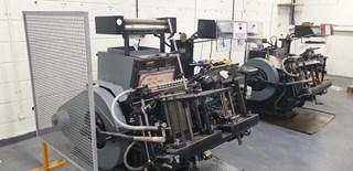 Heidelberg GT 13 x 18 Platen Letterpress