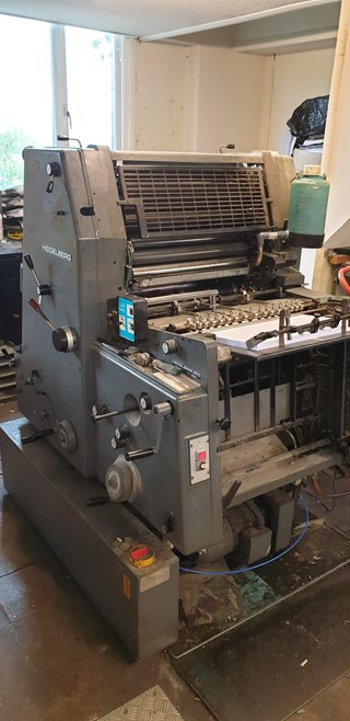 Heidelberg GTO 52  1 colour Sheet Fed