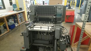 Heidelberg GTO52 + 1 Colour Sheet Fed