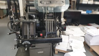 Heidelberg Platen Roller Lock Model  Letterpress