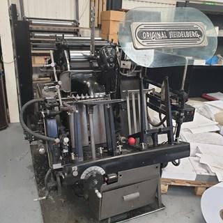 Heidelberg Platen Roller Lock Model Buchdruck-Zylinder & Tiegel