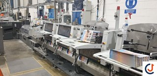 Heidelberg ST 400 Cosedoras embuchadoras; Encoladoras / Fresadoras