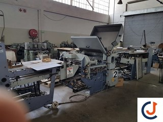 Heidelberg Stahl KC78 4KZ R-RC Folding Machines