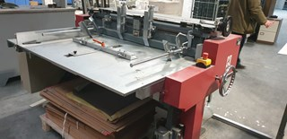 Herima BFC 1240 Hard Cover Book production