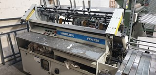 Hunkeler VEA 520 K Hard Cover Book block production / sewing