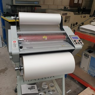 Matrix Duo 460 Laminator Finishing