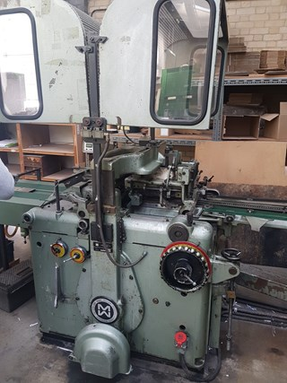 Muller Martini 221 4 station Gatherer Stitcher Trimmer with 217  Feeders and 225 3 Knive Trimmer
