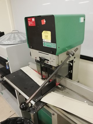 Nagel Citoborma 280 Paper drilling & punching
