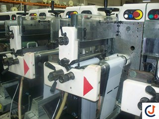 Nilpeter FA2 500 Series  8 Col Labels and Forms