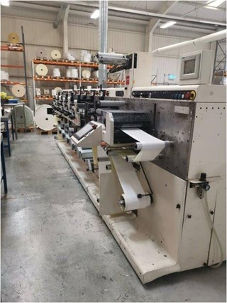 Nilpeter FA2 500 Series 5 x Flexo Labels and Forms