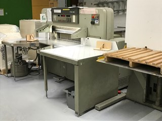 Polar 115 EM Digital Programmatic Guillotine Guillotinas