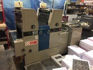 Ryobi 512 2 colours Gebrauchte Bogenoffsetmaschinen