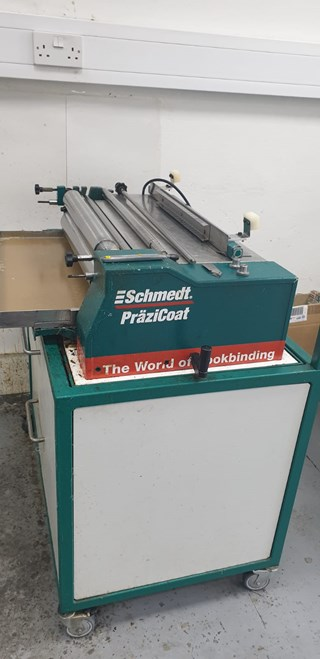 Schmedt Prazicoat Type 38 Folding machines