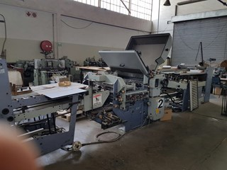 Heidelberg/Stahl KC78 4KZ R-RC Folding machines
