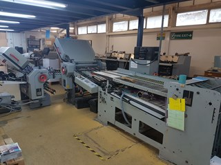 Stahl TD 66 4/4 Folding machines
