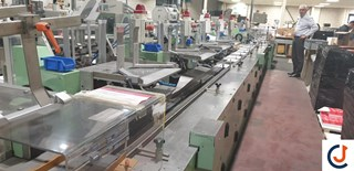 STS AV 25 Automatic Wrapper Mail Room Equipment