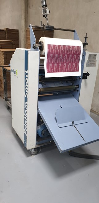 Tauler Printlam SMART 52  Finishing