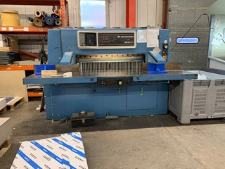 Wohlenberg 115 MCS-2 TV Guillotines/Cutters