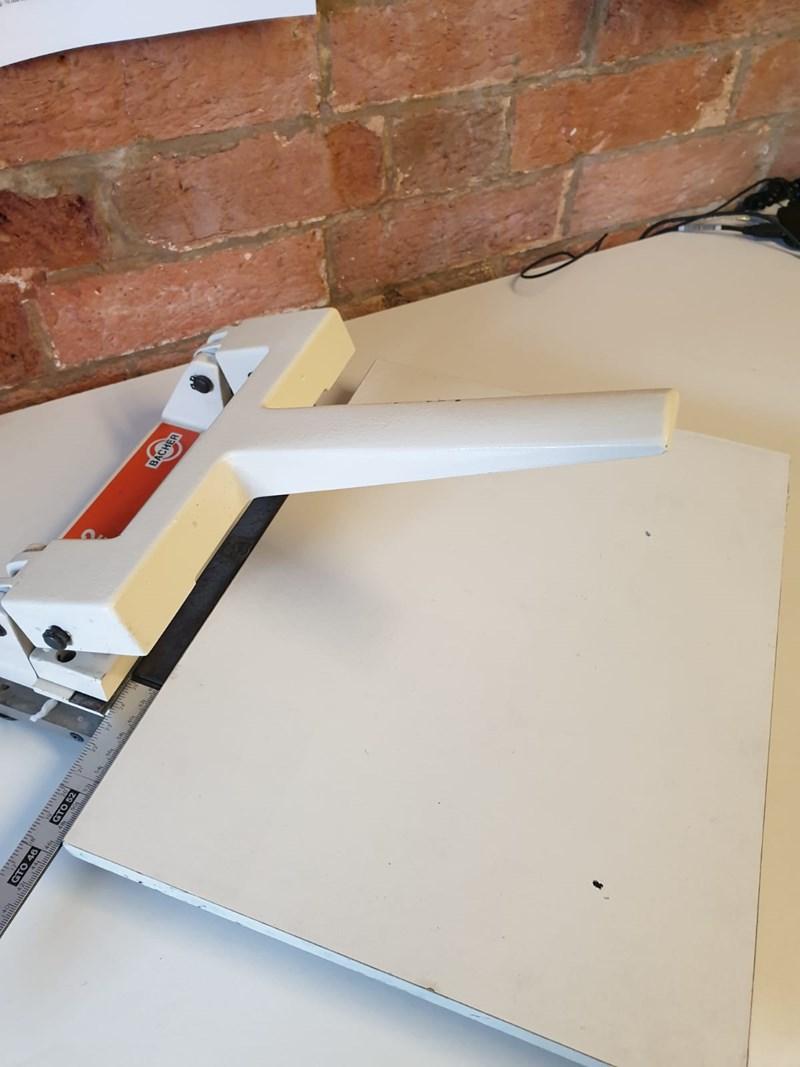 Bacher 2032 Printing Plate Punch Pre-Press